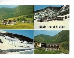 38 LA MURE Alpe Du Grand Serre : CHALET HOTEL NIVOSE / CPM 4 Vues Voy. 1981 / Peu Courante Coins Usés /faire Offre !! - France