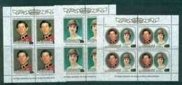 Aitutaki 1981 Charles & Diana Wedding Sheetlets MUH Lot44744 - Aitutaki