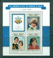 Aitutaki 1982 Princess Diana 21st Birthday MS MUH Lot81987 - Aitutaki