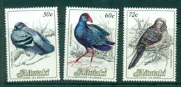 Aitutaki 1984 50c,60c,72c Birds MUH Lot30974 - Aitutaki