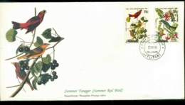 Aitutaki 1985 Audubon Birds,  Franlkin Mint FDC Lot79681 - Aitutaki