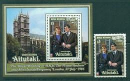 Aitutaki 1986 Royal Wedding Andrew & Sarah MUH Lot30002 - Aitutaki