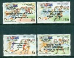 Aitutaki 1988 Olympic Medal Winners Opts MUH - Aitutaki