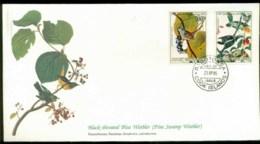 Cook Is 1985 Audubon Birds,  Franlkin Mint FDC Lot79690 - Cook Islands