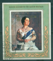 Cook Is 1985 Queen Mother 85th Birthday MS FU Lot55359 - Cook Islands