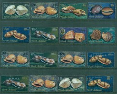 Cook Is 1985 Shells Surcharge Opts Asst Inc OHMS MUH - Cook Islands
