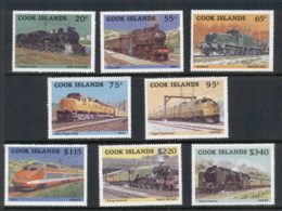 Cook Is 1985 Trains MUH - Cook Islands