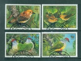 Cook Is 1989 WWF Birds FU Lot70872 - Cook Islands