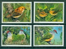 Cook Is 1989 WWF Endangered Species, Birds MUH - Cook Islands