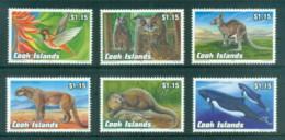 Cook Is 1992 Endangered Wildlife MUH MUH - Cook Islands