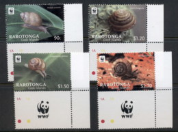 Cook Is 2012 WWF Land Snails MUH - Cook Islands