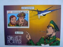 België Belgique 2004 Edgar P. Jacobs Blake & Mortimer Kolonel Olrik COB BL 112 3283 Yv Bloc 102 3270 MNH ** - Blocs 1962-....