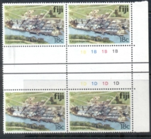 Fiji 1979-91 Pictorials, Labasa Sugar Mill 18c Blk4 MUH - Fiji (1970-...)