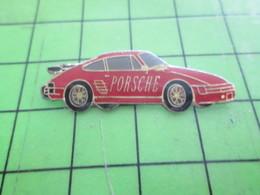 Sp16 Pin's Pins / Belle Qualité Et TB état !!!! : AUTOMOBILES : PORSCHE ROUGE - Porsche