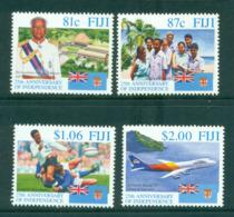 Fiji 1995 Independence 25th Anniv. MUH Lot54428 - Fiji (1970-...)