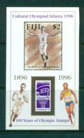 Fiji 1996 Modern Olympic Centenary MS MUH Lot54418 - Fiji (1970-...)