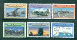 Fiji 1996 Nadi Airport, Planes MUH Lot54435 - Fiji (1970-...)