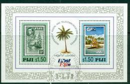 Fiji 1996 Telecom MS FU Lot14994 - Fiji (1970-...)