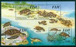 Fiji 1997 Turtles MS FU Lot15001 - Fiji (1970-...)