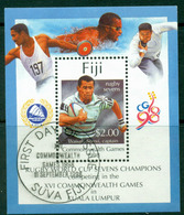 Fiji 1998 Commonwealth Games MS FU Lot15012 - Fiji (1970-...)