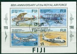 Fiji 1998 RAF MS FU Lot15010 - Fiji (1970-...)