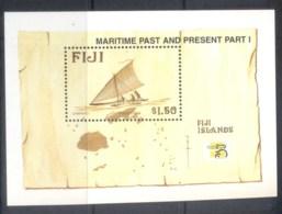 Fiji 1999 Maritime Heritage MS MUH - Fiji (1970-...)