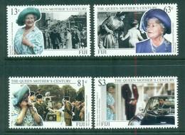 Fiji 1999 Queen Mother's Century, Royalty MUH - Fiji (1970-...)