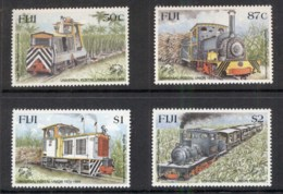 Fiji 1999 Sugar Mill Trains MUH - Fiji (1970-...)