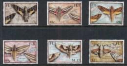 Fiji 2001 Insects, Moths MUH - Fiji (1970-...)