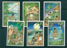 Fiji 2001 Xmas MUH - Fiji (1970-...)