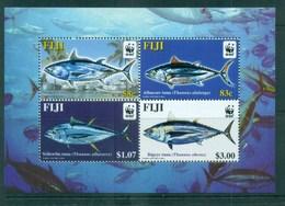 Fiji 2004 WWF Pacific Tunas MS MUH Lot76229 - Fiji (1970-...)