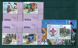 Fiji 2007 Scouts + MS MUH Lot66650 - Fiji (1970-...)