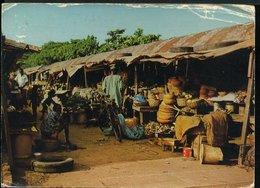 RA889 QSL NIGERIA , LAGOS SABO MARKET - Carte QSL