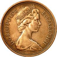 Monnaie, Grande-Bretagne, Elizabeth II, New Penny, 1976, TTB, Bronze, KM:915 - 1971-… : Monnaies Décimales