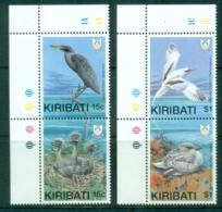 Kiribati 1989 Birds Prs MUH - Kiribati (1979-...)