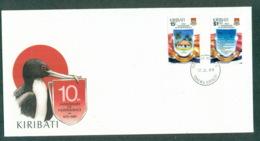 Kiribati 1989 Independence Anniv. FDC Lot70949 - Kiribati (1979-...)