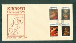 Kiribati 1989 Xmas FDC Lot70951 - Kiribati (1979-...)