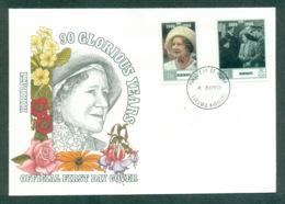 Kiribati 1990 Queen Mother 90th Birthday FDC Lot70952 - Kiribati (1979-...)
