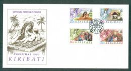 Kiribati 1991 Xmas FDC Lot70958 - Kiribati (1979-...)