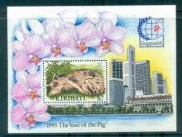 Kiribati 1995 New Year Of The Pig MS MUH Lot79957 - Kiribati (1979-...)