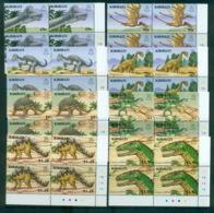 Kiribati 2006 Prehistoric Animals, Dinosaurs Cnr. Blks 4 MUH Lot70857 - Kiribati (1979-...)
