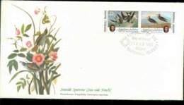 Marshall Is 1985 Audubon Birds,  Franlkin Mint FDC Lot79671 - Marshall Islands