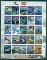 Marshall Is 1998 Legendary Aircraft Of The US Navy Sheetlet MUH Lot81731 - Marshall Islands