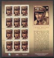 Marshall Is 2004 John Wayne Sheetlet MUH - Marshall Islands