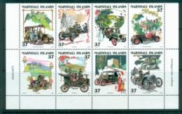 Marshall Is 2004 Vintage Cars Blk 8 MUH Lot81507 - Marshall Islands