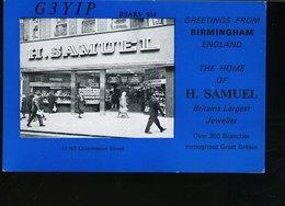 RA904 QSL BIRMINGHAM , SAMUEL CORPORATION STREET - Carte QSL