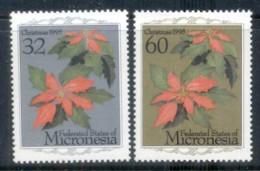 Micronesia 1995 Xmas, Flowers MUH - Micronesia