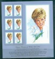 Micronesia 1997 Princess Diana In Memoriam MS MUH Lot82025 - Micronesia