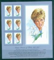 Micronesia 1997 Princess Diana In Memoriam MS MUH Lot82027 - Micronesia