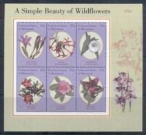 Micronesia 2000 Wildflowers, Sheetlet MUH - Micronesia
